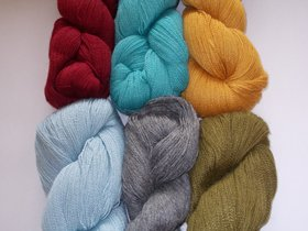Rooster Yarns Delightful Lace