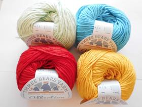 Three Bears Yarn Affection Cotton Aran