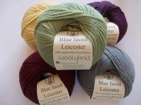 Woolyknit British Blue Faced Leicester DK