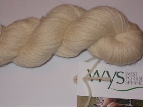 West Yorkshire Spinners BFL Natural Aran Ecru